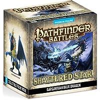 Pathfinder Battles: Shattered Star Gargantuan Blue Dragon by Wizkids [並行輸入品]