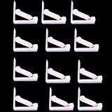 Glield Pack of 12 Plastic Table Cloth Clip Holder Cloth Clamp Party BDJ08