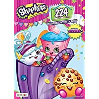 Shopkins 224pgカラーリングandアクティビティブックwith over 30ステッカープラス24 ct Crayolaクレヨンand 10 ct Crayolaマーカー
