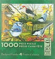 裏庭フィーダー–1000Piece Puzzle by Jack Pineパズル会社
