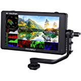 FEELWORLD LUT6 6 Inch 2600nits HDR/3D LUT Touch Screen DSLR Camera Field Monitor with Waveform VectorScope Histogram 4K HDMI