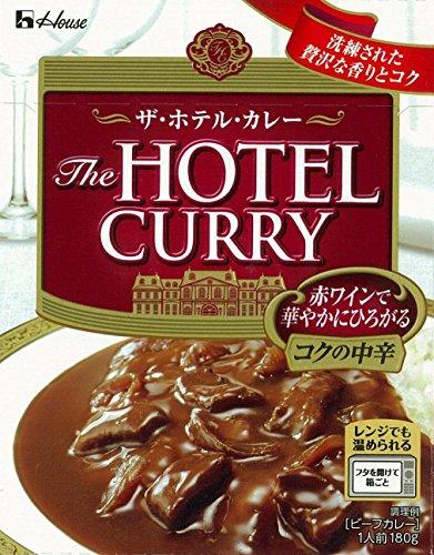 ハウス ザ・ホテル・カレー コクの中辛 180g×2個
