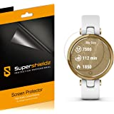 (3 Pack) Supershieldz Designed for Garmin Lily Screen Protector, (Full Coverage) High Definition Clear Shield (TPU)