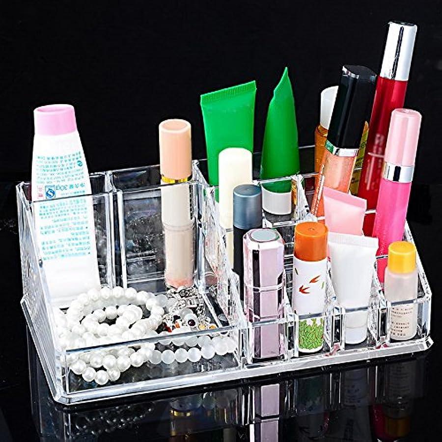 出口運ぶ克服するHooMall 化粧品 収納 コスメ収納 メイクケース コスメ収納スタンド 強い耐久性 透明アクリル 整理簡単 メイク用品 化粧品入れ