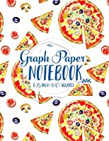 Graph Paper Notebook: Graph Paper Ruled Composition Book (Graph Paper Notebook: 1/4 Inch Squares No Border)