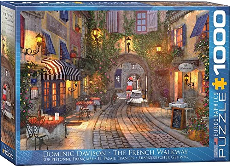 ジグソーパズル 1000ピース ユーログラフィックス フランスの歩道 6000-0961