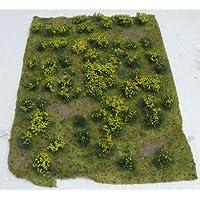 ジオラマシート 黄色い花が咲いた草地 HOスケール