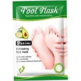 oshhni Foot Peel Mask Exfoliating - 1 Pack Baby Peeling Scrub Mask Dead Skin Remover Repairs Rough Heels, Get Smooth in 7 Day