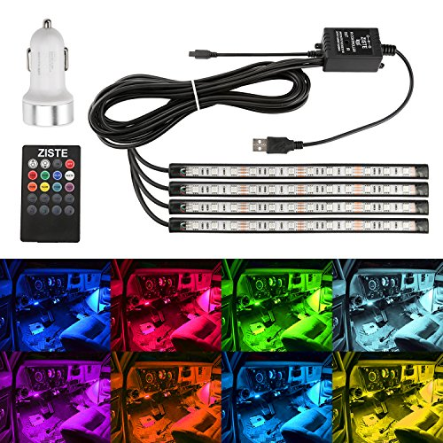ZISTE 新型!USB式 防水 高輝度 高品質 RGB LEDテープ 音に反応サウンドセンサー内蔵...