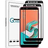 【2枚セット】Newzerol For ASUS ZenFone 5 Lite ZC600KL 専用 強化ガラスフィルム【6インチ用・全面・0.3mm・2.5D・透過率99%・硬度9H・気泡防止】ZenFone5Q ZC600KL 液晶保護フィルム