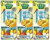 カゴメ 野菜生活100 瀬戸内柑橘ミックス 195ml×3本
