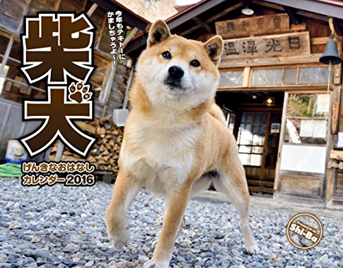 2016カレンダー 柴犬げんきな おはなしカレンダー ([カレンダー])