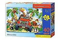 Castorland Jigsaw Premium Maxi 40 Pc - Softies on Safari