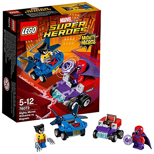 レゴ(LEGO)スーパー・ヒーローズ マイティマイクロ:ウルヴァリン vs マグニートー 76073