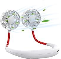 携帯扇風機 手持ち USB扇風機 卓上 首振り ストラップ付き ミニ扇風機