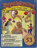 Magnetic Creations Circus 53 Piece Playset by Magnetic Creations