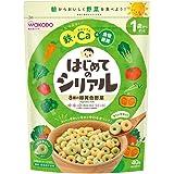 和光堂 はじめてのシリアル 8種の緑黄色野菜 40g