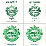 Jargar 4/4 Cello String Set Thin(Dolce) 【TEA】 [並行輸入品]
