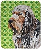 Caroline's Treasures Otterhound Lucky Shamrock St. Patrick's Day Mouse Pad/Hot Pad/Trivet (SC9732MP) [並行輸入品]