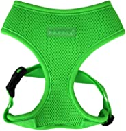 Puppia Neon Dog Harness, Green Medium