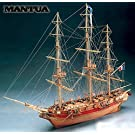 1032 輸入木製帆船模型 マンチュア モデル773 アストロラーベ