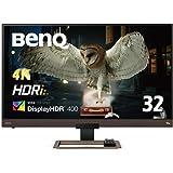 BenQ 32インチ4K高画質&高音質モニター EW3280U(32インチ/4K/IPS/DisplayHDR400/H…