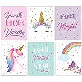 Unicorn Wall Art, Unicorn Posters, Wall Art For Girls Room, Girls Room Decor, Unicorn Wall Decor, Kids Room Decor For Girls,