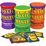 Toxic Waste Special Edition Colour Drums 5 Assorted Flavors and new Mystery Flavour 48g (1.7oz) - 3 pack