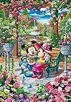 1000ピース ジグソーパズル ディズニー 恋咲くロイヤルガーデン(51x73.5cm)