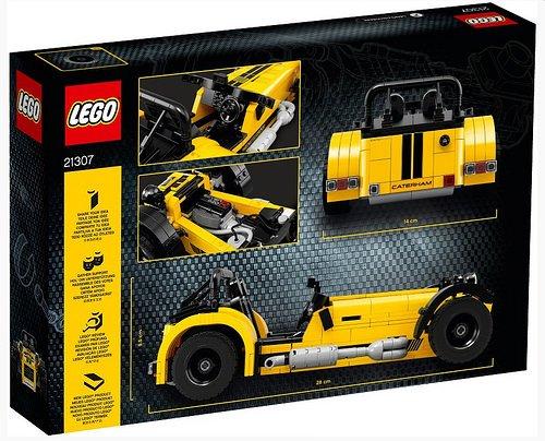 LEGO レゴ IDEAS アイデア #014 ケータハム スーパーセブン Caterham Seven 620R 21307 [国内正規品]