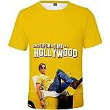 記念シャツ Tシャツ Once Upon a Time in HollywoodTシャツ ワンス・アポン・ア・タイム・イン・ハリウッドシャツ インナーシャツ おしゃれティーシャツ メンズファッション uネック 半袖 夏服 ギフト 誕生日プレゼント