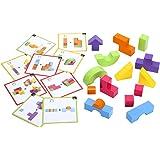 <ボーネルンド> ラーニングブロックス360 かたち合わせ 立体パズル 直感力 空間認知 積み木 ブロック 組み立てパズル