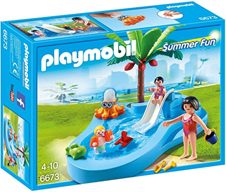 Playmobil(プレイモービル) すべり台付き ベビープール 6673 [並行輸入品]