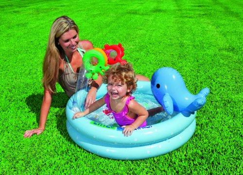 [해외]INTEX (인텍스) 돌핀 베이비 수영장 90cm × 53cm 57400 [일본 정품]/INTEX (INTEX) Dolphin Baby Pool 90 cm × 53 cm 57400 [Japanese Genuine]