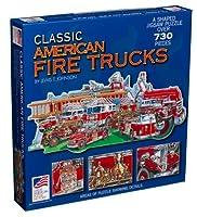 Great American Puzzle Factory クラシックアメリカンファイヤートラックジグソーパズル 730ピース