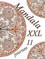 Mandala journee XXL 11: coloriages pour adultes - Coloriage anti-stress