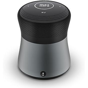 MIFA A3 Bluetoothスピーカー【10W/Micro SDカード対応/3.5mmAuxケーブル対応/ハンズフリー通話】 グレー