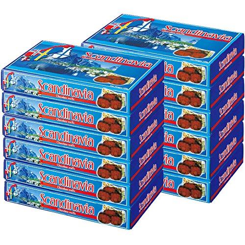 北欧 土産 スカンジナビア チョコトリュフ 12箱セット (海外旅行 北欧 お土産)