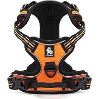 cocomall 犬用ハーネス 犬用胴輪 ドッグ ペット用品 ハーネス 3M反射材料 訓練 ナイロン製 小型犬、中型犬…
