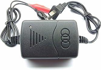 Grandmart バッテリー充電器 バイク カーバッテリー 電動自転車 自動車用 カー用品 メンテナンス用品 バッテリーチャージャー バイク用 カー用品 バイク用品(1A, 12V)