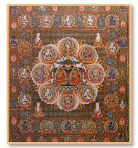 [해외]불화 색종이 법화 만다라/Buddhist picture paper Hokusai Mandala