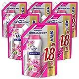 レノア 本格消臭+ 抗菌ビーズ リフレッシュフローラル 詰め替え 約1.8倍(760mL)×6袋