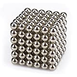 Creative Sculpture Magnets Office Fidget & Stress Relief for Adults 216 Pieces 5mm Magnetic Balls