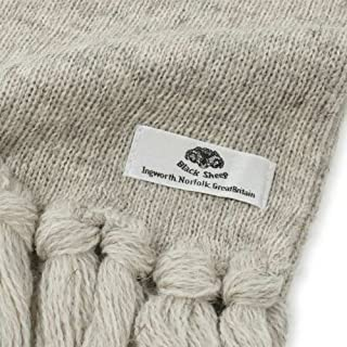 Knitted Scarf RS06: Light Grey