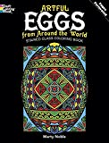 Artful Eggs from Around the World Stained Glass Coloring Book (Dover Design Stained Glass Coloring Book) by Marty Noble(2011-03-17)