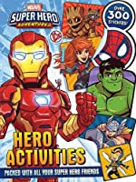 Marvel - Super Hero Adventures: Hero Activities (Mega Activity Shaped Marvel)