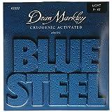 Dean Markley ディーンマークレー エレキギター弦 ブルースティール ニッケル Blue Steel Electric 2552 Light .009-.042