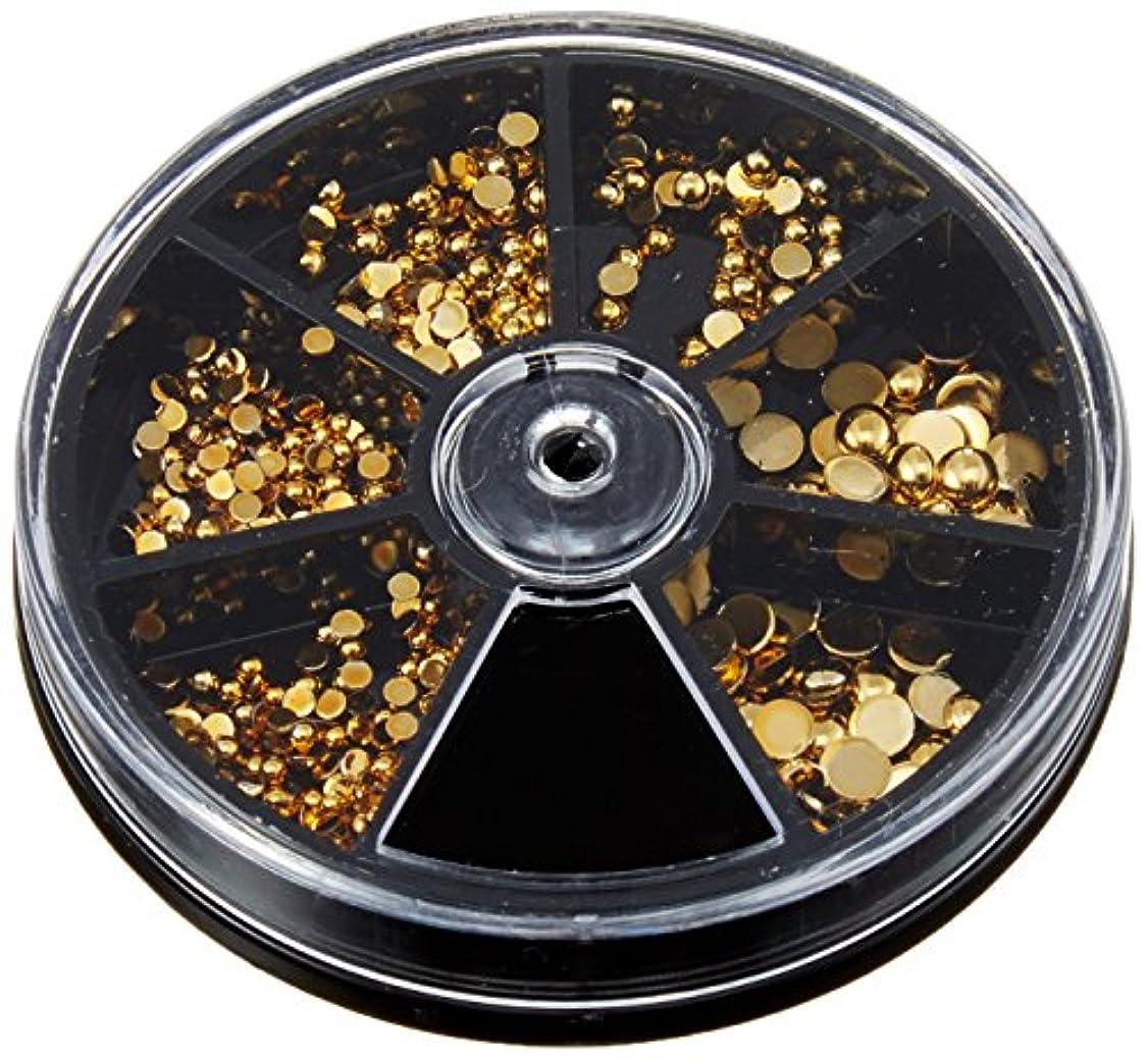 アナニバーポット分解するビューティーネイラー ネイルストーンバラエティパック ラウンドストーン (ゴールド) SVP-9