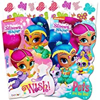 Shimmer and Shine Board Books Set - 2 Books and Licensed Stickers by Shimmer and Shine Party Supplies