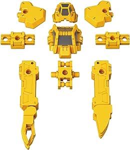 30MM 特殊作業用オプションアーマー[ラビオット用/イエロー] 1/144スケール 色分け済みプラモデル